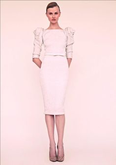 Marchesa Resort 2013 - white dress