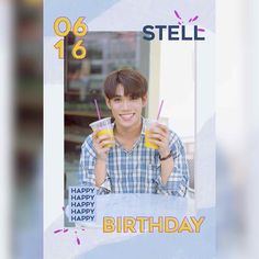 Happy Birthday to Heavenly Voice, Stell! We will always be thankful to have someone as wonderful and cheerful as you, from and… Jung Suk, Lee Jung, Always Be Thankful, Super Junior, My Boyfriend, Aesthetic Wallpapers, Heavenly, Boy Groups, The Voice