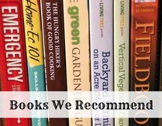 Homesteading Books We Recommend
