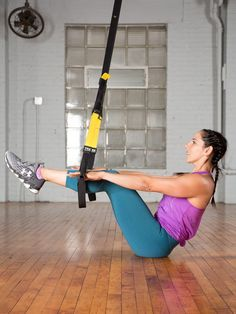 Turns out, your fave suspension trainer can support and advance your yoga practice. #trx #yoga https://greatist.com/move/trx-yoga-workout