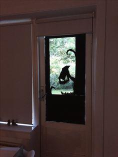 Halloween monster Halloween Door, Creative