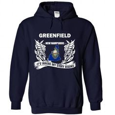Greenfield - Its where my story begins! - #love gift #day gift. ORDER NOW => https://www.sunfrog.com/No-Category/Greenfield--Its-where-my-story-begins-8088-NavyBlue-Hoodie.html?68278