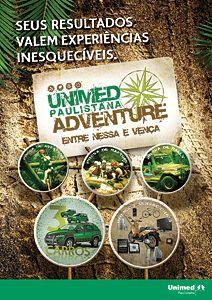 Unimed Adventure - Banner para ação de endomarketing