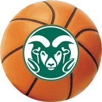 Colorado State Ram Logo Basketball Decal
