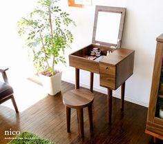Resultado de imagen de mesa tocador minimalista