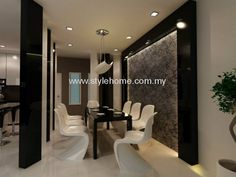 Johor Bahru JB Malaysia Dining Area Design Interior Renovation