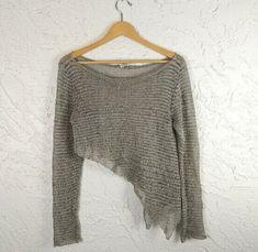 Sarah Pacini, Crochet Top, Pullover, Knitting, Sweaters, Tops, Women, Fashion, Moda
