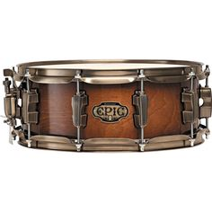 Ludwig 6.5x14 Epic Snare Drum Mahogany Fade w/Vintage Bronze Hdwr