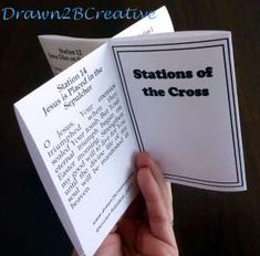 Stations of the cross printable prayers for catholic kids