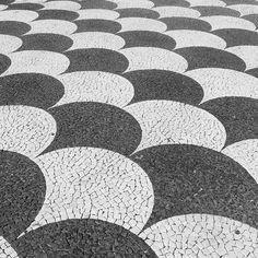 Calçada Portuguesa - Portuguese Pavement  by  www.21cwoman.com