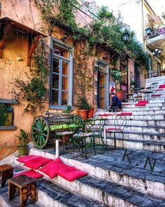 Anafiotika, Plaka, Athens, Greece