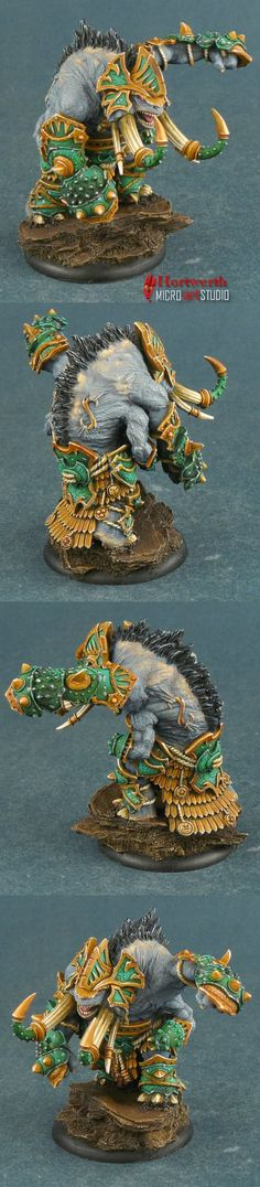Skorne Bronzeback Titan