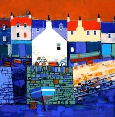 Pier Gable by Scottish Contemporary Artist George BIRRELL
