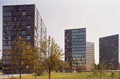 Parkappartementen Chasséterrein ( X. De Geyter )