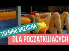 Trening brzucha dla początkujących | 5 - YouTube Zumba, Health Fitness, Muscle, Sporty, Yoga, Youtube, Workout, Exercises, Drink