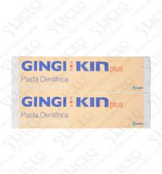 GINGI KIN PLUS PASTA PACK 2 UNIDADES 125 ML