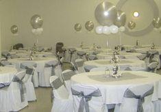 decoracion de mesas con globos