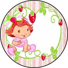 Fazendo a Propria Festa: Kit personalizados tema Moranguinho Baby