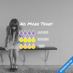 No More Tears Essential Oil Diffuser Blend