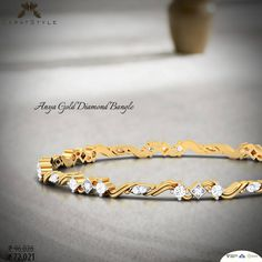I've fallen in love many times . . . always with you. #diamond #bangle