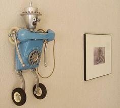 amazing cool weird crazy offbeat homemade robots 06 200907231807385550  Homemade Robots