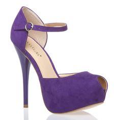 love the purple shoe