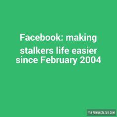 TheRockInkChick blogg: Facebook Stalking.....
