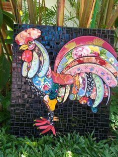 Mosaic Artwork, Mosaic Wall Art, Mosaic Diy, Mosaic Garden, Mosaic Crafts, Mosaic Projects, Mosaic Glass, Art Projects, Mosaic Birdbath