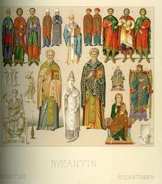 Byzantine Racinet, Auguste. Costume Historique. Paris: Firmin-Didot et Cie, 1888. Margaret M. Bridwell Art Library, University of Louisville.