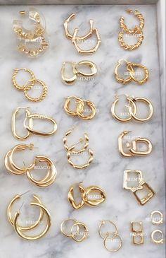 Ear Jewelry, Cute Jewelry, Jewelry Accessories, Fashion Accessories, Fashion Jewelry, Jewelry Design, Women Accessories, Jewelry Trends, Jewelry Bracelets