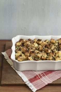 Cornbread and sausage stuffing from the Beekman 1802 Heirloom Cookbook