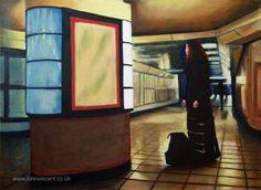"""Tube"", Oil on canvas, ©John Vincent"