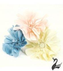 www.houseofadorn.com - Flower Silk Poppy Large w Stamens