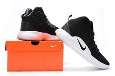 7c3a91b37bce Men s Nike Hyperdunk X 2018 Black Silver White Basketball Shoes
