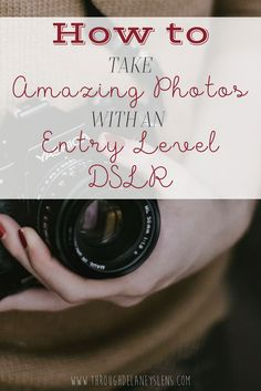 Can't afford to replace your beginner DSLR with a newer model? Click here to learn how I take great photos with my entry-level DSLR that my clients love!