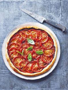 Sommerliche Tomaten-Tarte