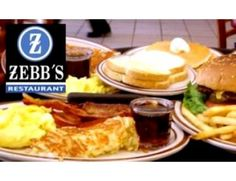 Half Off at Zebb's Restaurant