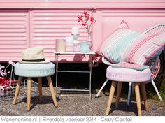 Riverdale Crazy Coctail - interieur en woonaccessoires voorjaar 2014 Pastel House, Breath Of Fresh Air, Spring 2014, Summer 2014, Cocktails, Interior Design, Pink, Purple, Pastels