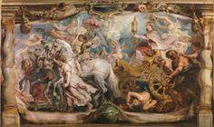 The Triumph of the Church / El Triunfo de la Iglesia // c. 1625 // Peter Paul Rubens // Museo Nacional del Prado, Madrid // #Catholicism