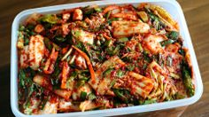 How to make kimchi! - (We tried, it is very good!!!!)