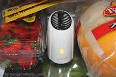 oransi ionic fridge air purifier
