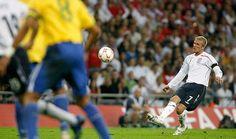 sport: England's Beckham