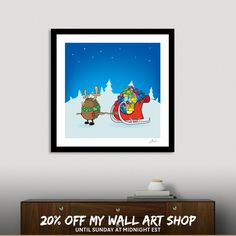 Discover «Rodolpho the red nose Hedgehog», Numbered Edition Fine Art Print by Mangulica - From $20 - Curioos