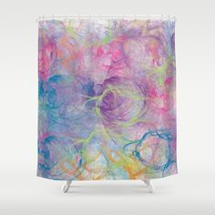 Summer Craziness 2 Shower Curtain by Rosaura Grant - $68.00