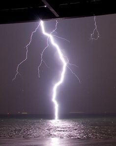 Why you don't swim during thunderstorm regardless of the considerable reduction in cellular mutation from UV radiation.