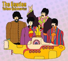Beatles Yellow Submarine Photo Prop Tutorial - Rae Gun Ramblings