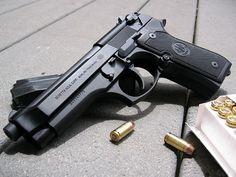 Beretta 92 pistol Find our speedloader now! http://www.amazon.com/shops/raeind