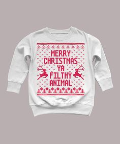 Home Alone Sweatshirt - for the little one