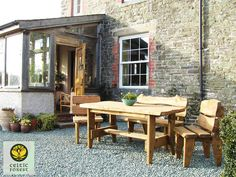 You can now enjoy your super strong Celtic Forest garden furniture this spring at low prices. All our prices are low with current wood stocks. So beat the season and buy  this Spring.  All prices go up first week of May! Order your Handmade Garden Furniture here: http://www.celticforest.co.uk/shop/outdoor-living/