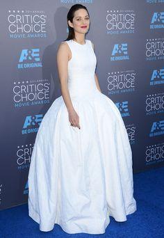Marion Cotillard en Dior Couture aux Critic's Choice Movie Awards 2015
